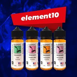Vapeaholix Online Vape Shop UK Discount codes-element10