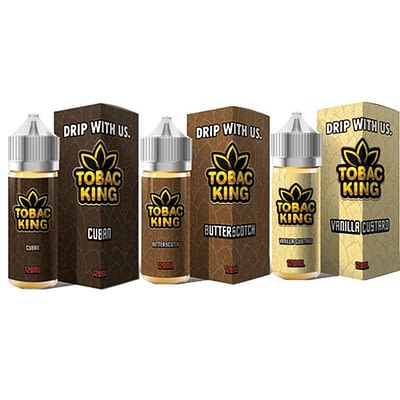 Tobac King Dripmore 100ml E-liquid