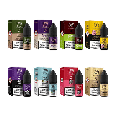 Pod Salt Nicotine Salt Range Vapeaholix Vape Shop Online Farnborough Guildford UK