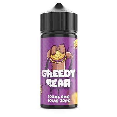 Greedy Bear 100ml E-liquid Range