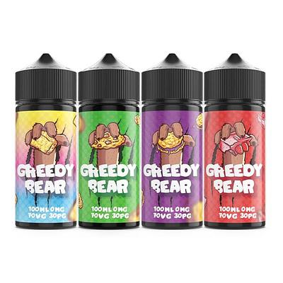 Greedy Bear E liquid Range Vape Juice Vape Shop UK