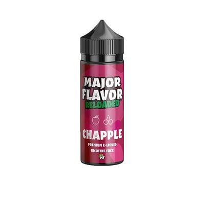 Major Flavor Reloaded 100ml E-liquid Vape Juice Vapeaholix Vape Shop Farnham Guildford Surrey Online UK